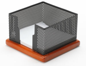 Metal Mesh Stationery Memo Holder/ Office Desk Accessories pictures & photos