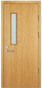 China Wooden Fire Door with Bm Trada and UL Certificate 90mins ...
