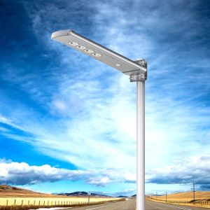 2017 New Smart Lighting Solar Street Light with PIR and Remote Control