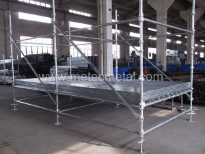 Certified High Quality Cuplock Scaffold for Construction pictures & photos