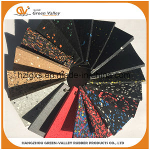 Noise Insulating Colorful Rubber Floor Roll Rubber Mat pictures & photos
