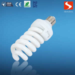 13W Full Spiral Compact Fluorescent Lamp pictures & photos