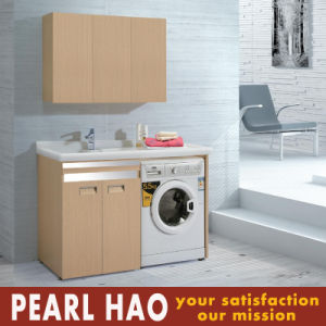 Fashion Melamine MFC Laundry Cabinets Wholesale pictures & photos