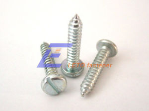 Slotted Pan Head Tapping Screw-Stainless Steel A4-20h