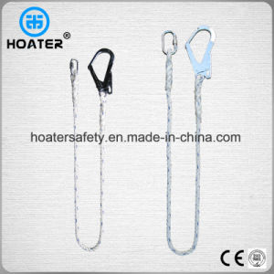 High Strength Polyester Lanyard Construction Safety Rope for Safety Belt