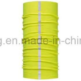 Custom Multifunctional Polyester Reflective Seamless Bandana with Printing Logo