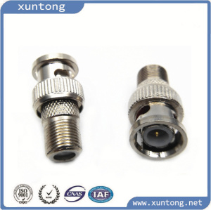 Rj11 BNC Coaxial Brass Connector pictures & photos