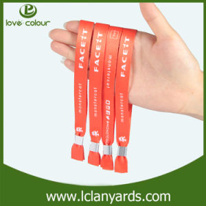 Cheap Customized Charity Heat-Transfer Wristbands for Music