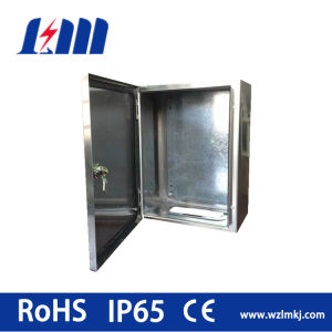 Stainless Steel Distribution Box Single Door IP65/AISI304 316 Enclosure