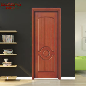 Awesome Western Style Plywood Interior Wooden Door Design (GSP6 008)