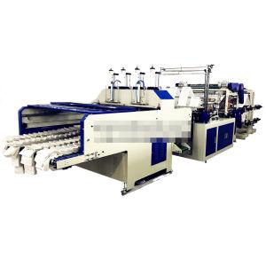 8 Lines Automatic Plastic Biodegradable T-Shirt Shopping Bag Making Machine
