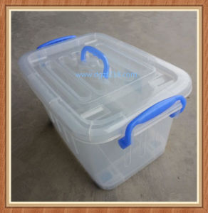 25L Transparent Plastic Storage Box with Superior Quality for Sale