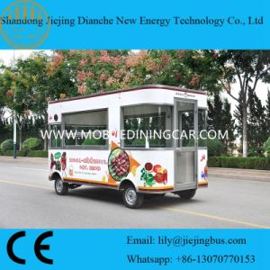 BBQ Grilled Food Mobile Cooking Trailer for Sale with Electric Signature pictures & photos