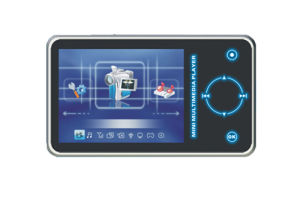 China Touch Keypad MP4 Player (HE4316) - China Mp4 player, Audio