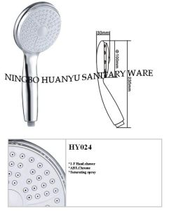 Shower Head, Hand Shower with EU Design pictures & photos