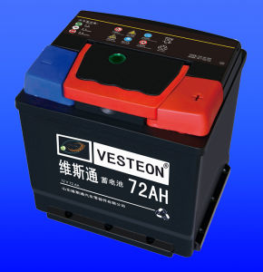 Car Battery DIN72 pictures & photos
