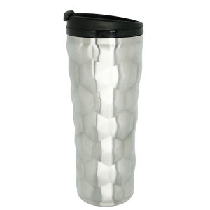 Unique Stainless Steel Vacuum Travel Mug 16oz Silver pictures & photos