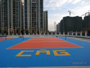 China Most Professional Volleyball Court Floor in Asia for ...