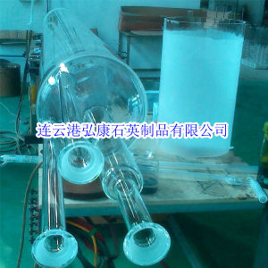 Quartz Tube for Chamber Furnace, Clear Diffusion Furnace Tubes pictures & photos