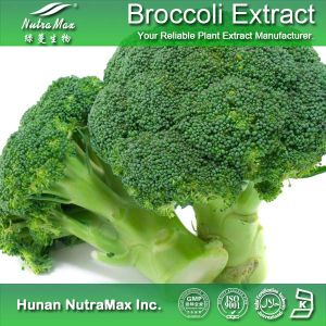 100 % Natural Broccoli Powder Extract (Sulforaphane 1%~98%; 4: 1~20: 1)