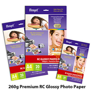 Premium High Glossy Inkjet Photo Paper (RC Base) 260g