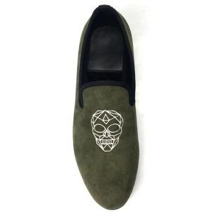 cfd7b4ab424ee China Velvet Slippers Men Velvet Loafer Shoe 2018 - China Loafer ...