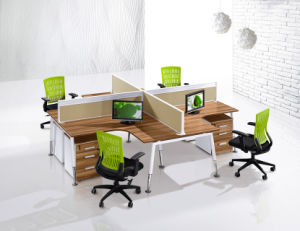 X Shape Office Modular Workstation Desk
