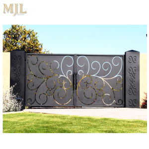 Cast Iron Gate Design Iron Fancy Gates for Homes - China Main Iron