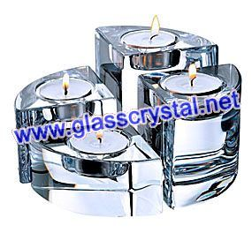 Crystal Candle Holder (H2517)