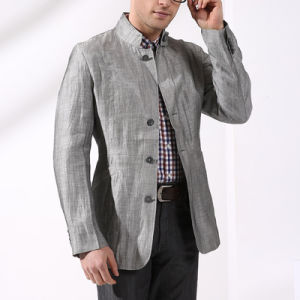 European Style Cotton Casual Jacket for Men Light Jacket pictures & photos