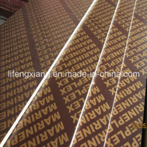18mm Black/Brown Film Faced Shuttering Plywood for Concrete Formwork