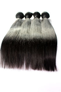 Straight Brazilian Virgin Human Hair Extension with Naural Color pictures & photos