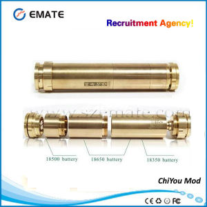 Latest Electronic Cigarette Use 18650 Battery Chi You Mod with Copper