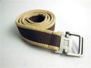 2018 Year Latest Fashion Men′s Soft Canvas Belt pictures & photos