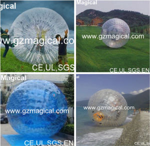 Durable Adult&Kids Human Hamster Ball Inflatable Zorb Ball Inflatable Grass Zorb Ball (RA-096) pictures & photos