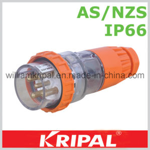 AS/NZS 5pin 32A Weatherproof Plug pictures & photos