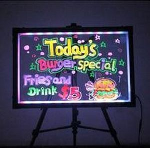 Full Size Shop Advertising Products LED Light Menu Board