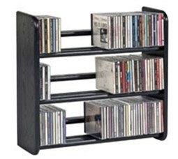 Three Layer Wood CD Racks (JHWOLIRADI08S)