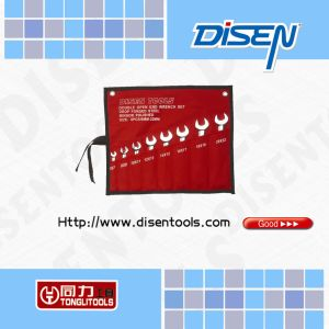 8-Piece (8-22) Bag Packed Open End Wrench