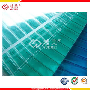 Clear Polycarbonate Hollow Sheet pictures & photos