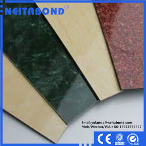 Wood Marble Granite Surface Aluminum Composite Panel with Factory Price pictures & photos