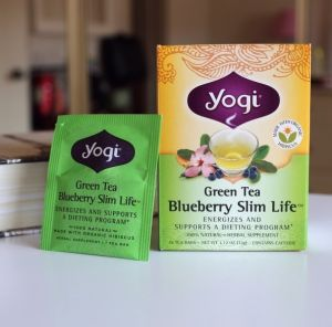 China Yogi Blueberry Slim Life Tea Supplement China Slimming Tea
