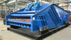 Dw Type Linear Vibrating Dewatering Screen for Sand Dewatering