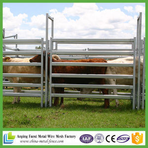 Cheap Heavy Duty Galvanized Cattle Yards Panel with Gate