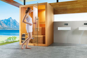 Dry Sauna with Canadian Cedar Wood for Family (M-6055) pictures & photos