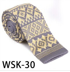 Men′s Fashionable 100% Polyester Knitted Necktie (WSK-30) pictures & photos