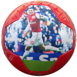 Soccer Ball / Football Printed with Large Photo