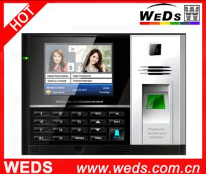 Biometric Time Attendance System with 3.5 Inches Color LCD