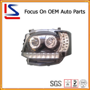 Hot Sale Auto Black New Model Head Lamp for Hiace′11 pictures & photos