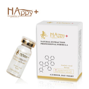 Skin Care Manufacturer Cosmetics Happy+ Azelaic Acid Serum Cosmetic (10ml) Skin Lightening Serum Oil Control Serum Shriking Pores pictures & photos